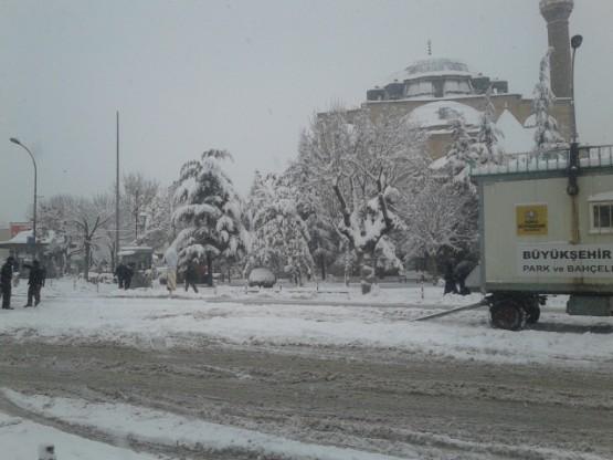 Yurt'ta Kar Manzaraları galerisi resim 10