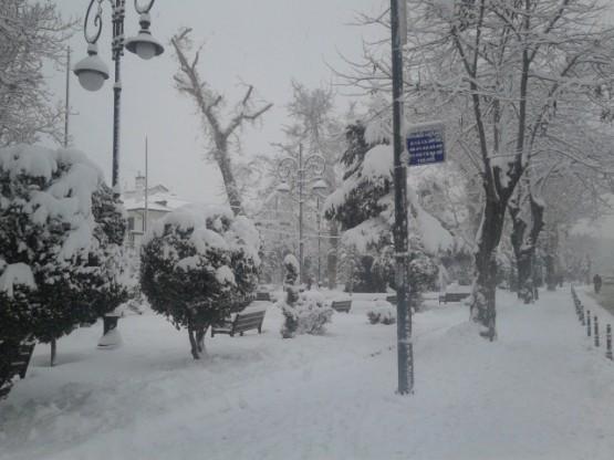 Yurt'ta Kar Manzaraları galerisi resim 13