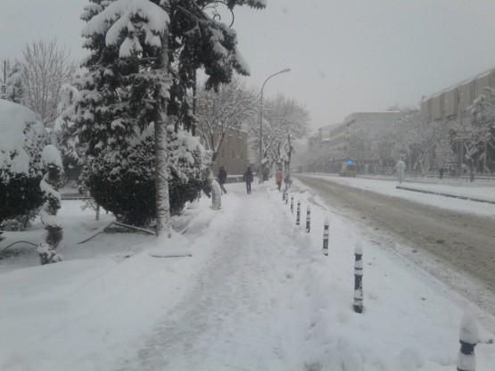 Yurt'ta Kar Manzaraları galerisi resim 16