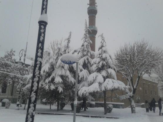 Yurt'ta Kar Manzaraları galerisi resim 17