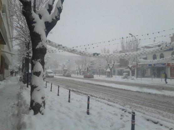 Yurt'ta Kar Manzaraları galerisi resim 18