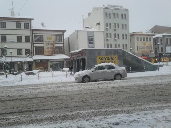 Yurt'ta Kar Manzaraları galerisi resim 2