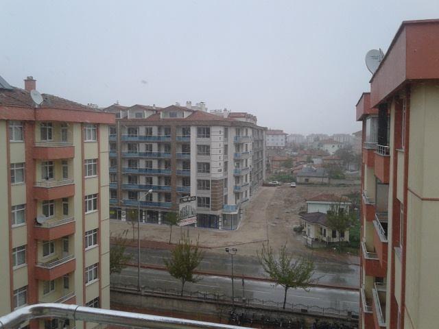 23 Nisan'da Konya'da Kar Manzaraları galerisi resim 5
