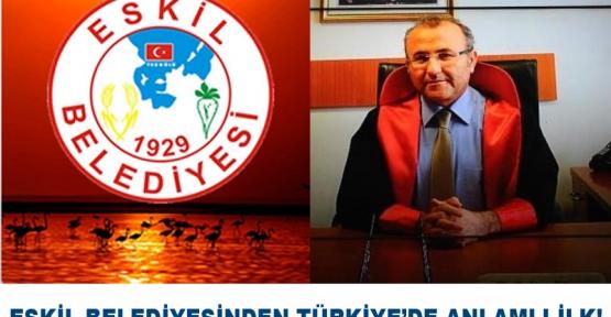 Eskil Belediyesi,  Mehmet Selim Kiraz İsmini Eskil'de Yaşatacak