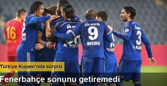 Fenerbahçe'ye Kayseri Şoku