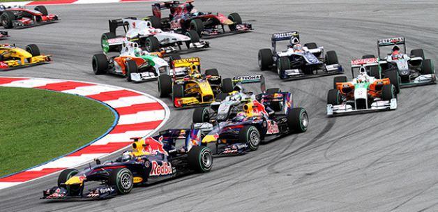Formula 1'de yine kural değişikliği