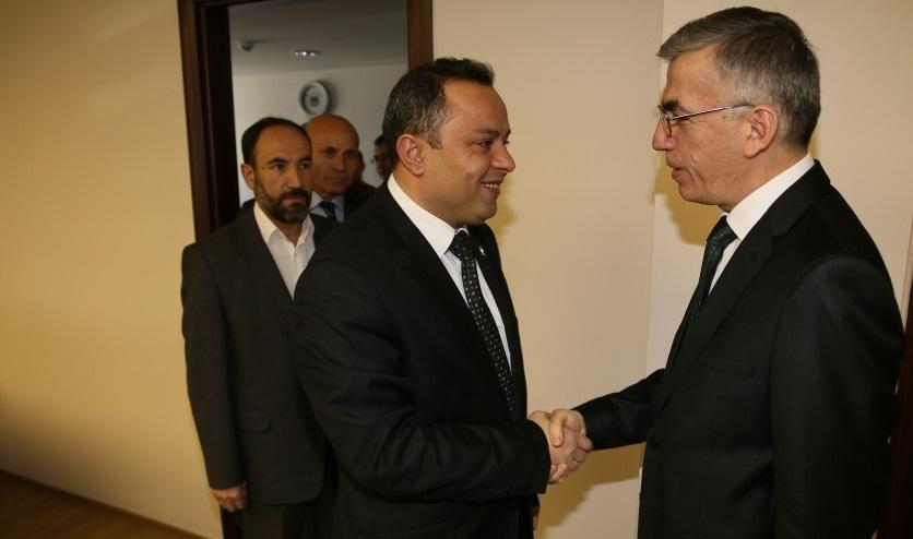 AK Parti İl Başkanı Karatay'dan Vali Ataklı'ya ziyaret