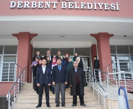 Ak Parti Kadın Kolları'ndan Başkan Acar'a ziyaret