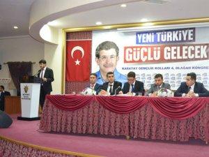 AK Parti Karatay Gençlik Kolları'nda Çelik'le devam