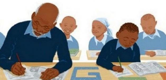 Google'dan en yaşlı ilkokul öğrencisi için mesaj