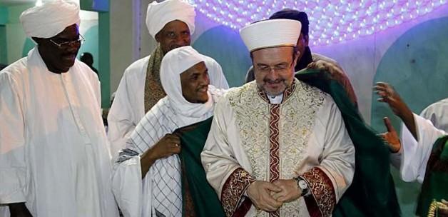 Görmez'e Sudan'da sevgi seli!