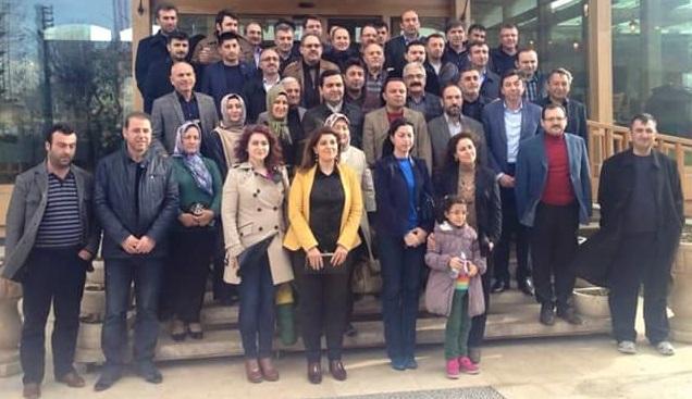 Ak Parti'de Parti İçi Eğitim Toplantıları sürüyor