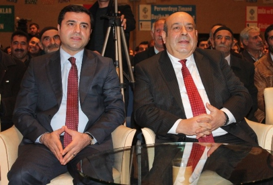 HDP Eş Genel Başkanı Selahattin Demirtaş Konya'da