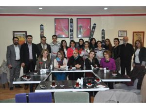 Aksaray Barosu Avukatları Down Cafe'yi Ziyaret Etti