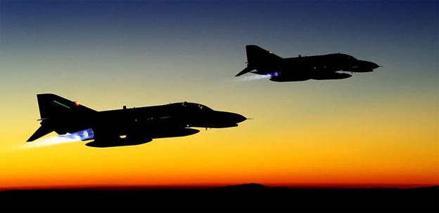 İsrail uçakları Suriye'yi yine bombaladı!