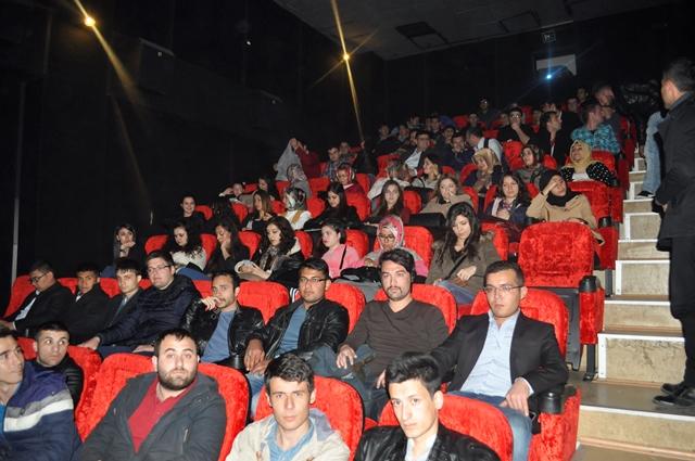 Aksaray Ülkü Ocakları ''Son Mektup'' filmini izledi