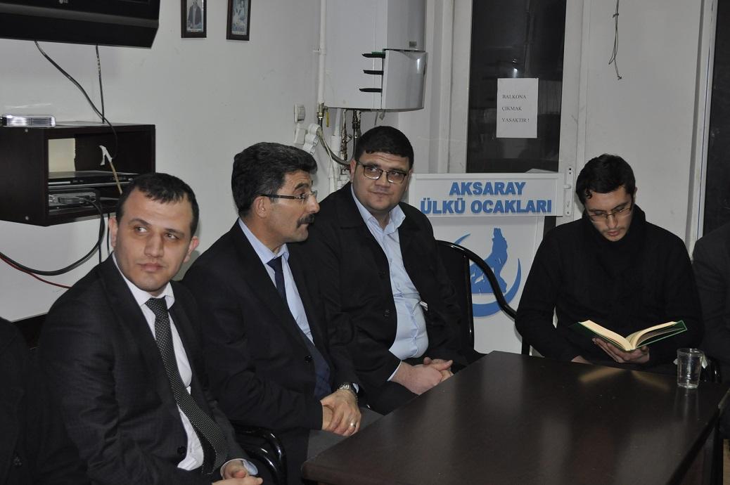 Aksaray Ülkü Ocakları Serhat Turak'ı unutmadı!