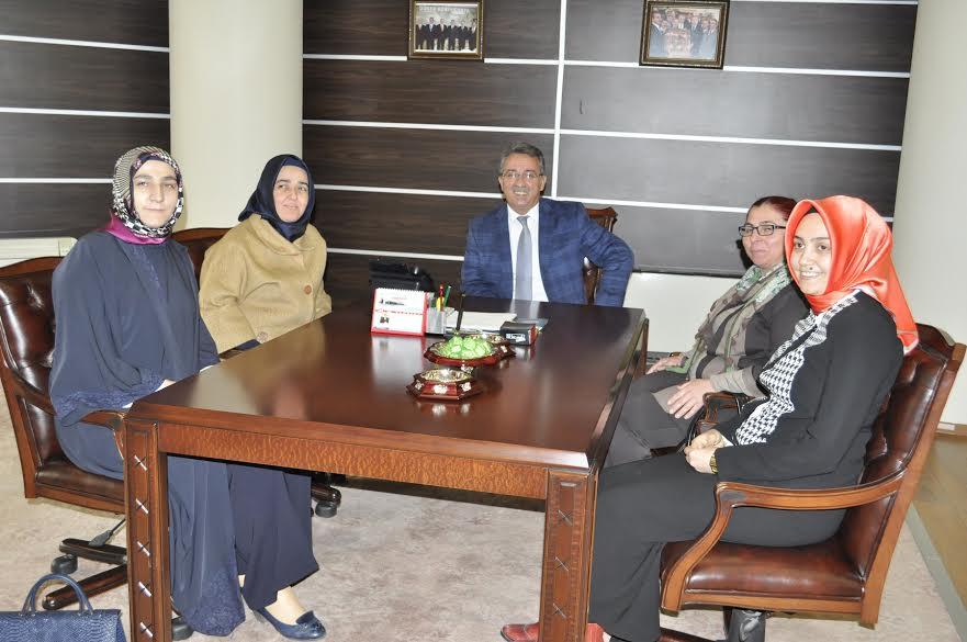 Kadem Yönetiminden Başkan Hançerli'ye Ziyaret