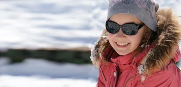 Kar keyfiniz gözlerinize zarar vermesin