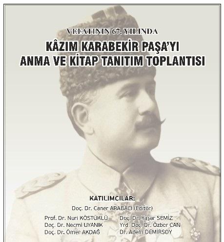 Kombassan Vakfı'ndan Kazım Karabekir Paşa'ya vefa