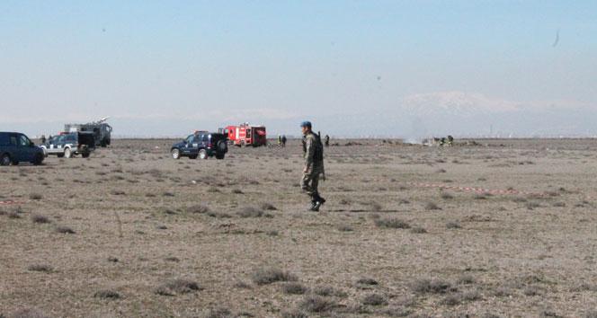 Konya'da Düşen Askeri Uçak