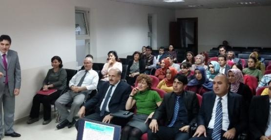 Konyada TUİK personeline Etkili iletişim semineri