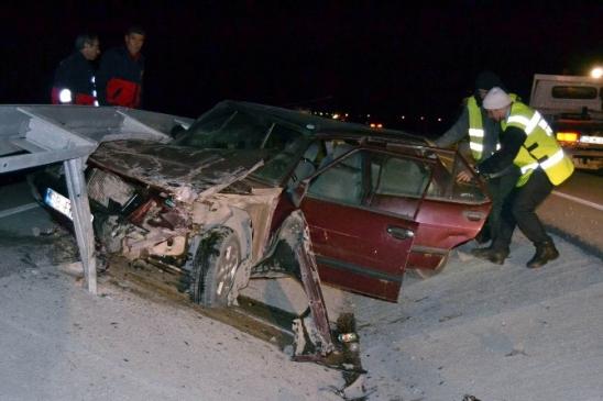 Kulu'da trafik kazası: 1 Ağır yaralı