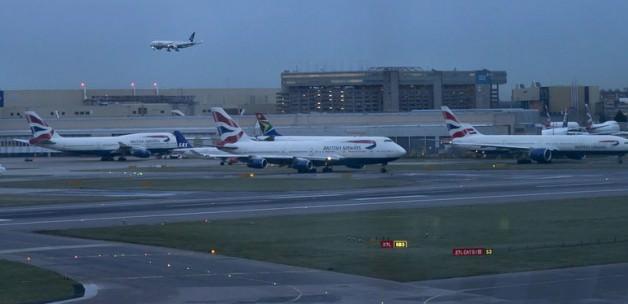 Londra hava sahası açıldı