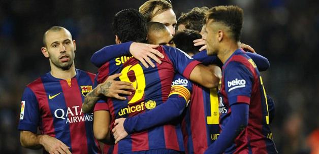 Messi ve Neymar iş başında
