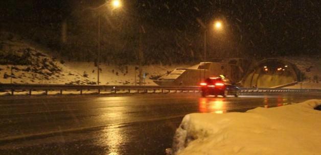 Meteoroloji'nin uyardığı kar yağışı başladı!