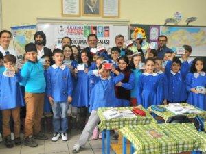 Akşehir'de Öğrencilere Kitap Kumbarası!