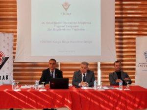 Neü'de Tübitak Üyelerine Bilgilendirme Toplantısı Yapıldı
