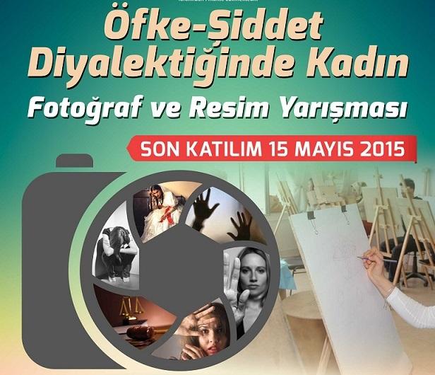 """""""Öfke-Şiddet Diyalektiğinde Kadın"""" konulu fotoğraf ve resim yarışması düzenleniyor"""