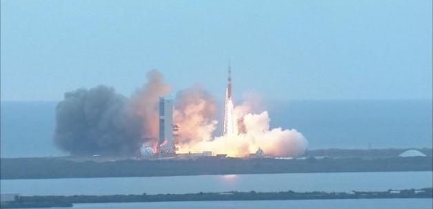 Orion uzaya fırlatıldı
