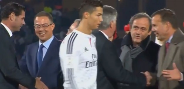 Ronaldo'dan Platini'ye büyük şok!