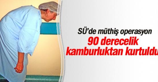 Serlçuk Üniversitesinden Başarılı operasyon