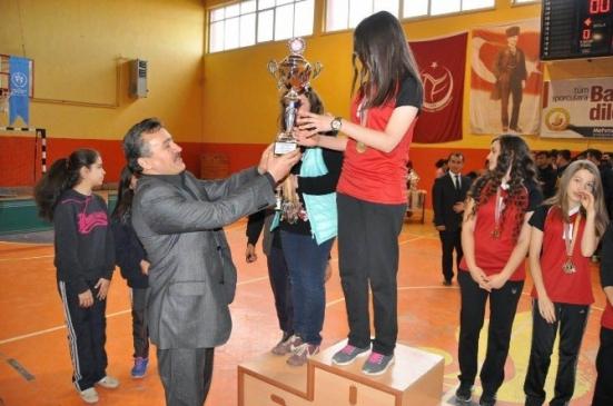 Seydişehir'de Okul Sporları Ödül Töreni  Yapıldı
