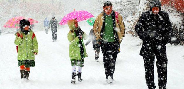 3 şehirde okullara kar tatili!