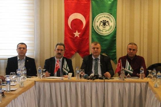 Torku Konyaspor Yönetiminden Mhk'ya Salvo