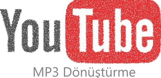 YouTube MP3 dönüştürme işlemi