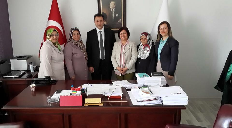 MHP Aksaray Kadın Kolları Baro Ziyareti