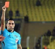Maçın Hakemi Kırmızı Kart İçin Özür Diledi