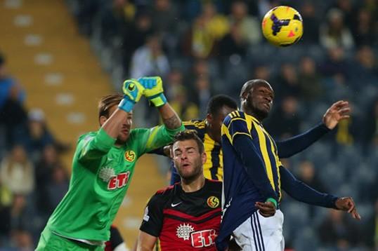 Fenerbahçe  Eskişehirspor'a Konuk Oluyor