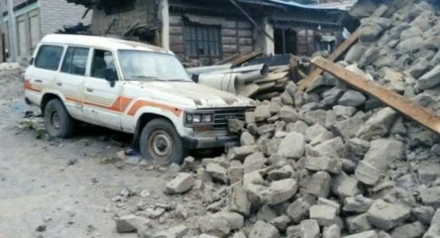Nepal'de Bilanço ağırlaşıyor!