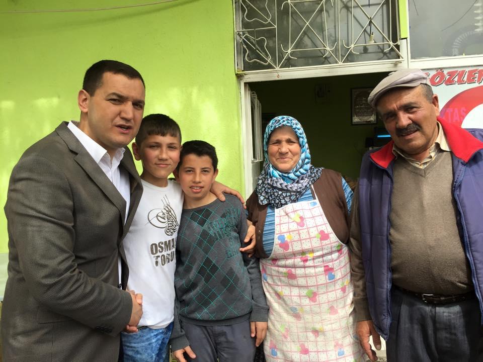 '' Artık sabırlar taşmış, teveccühler MHP iktidarını müjdeliyor''