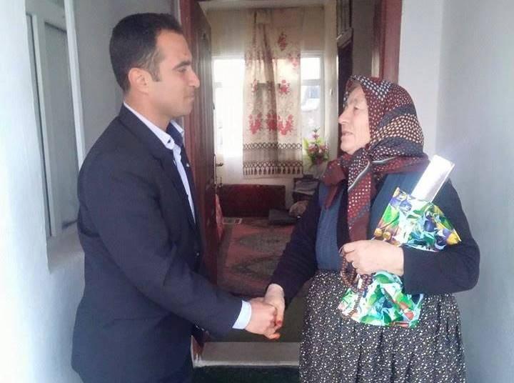 AGD Eskil Şubesi Şehit Annelerini unutmadı!