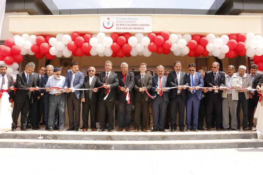 Karatay'da İki Aile Sağlığı Merkezi Törenle Hizmete Açıldı