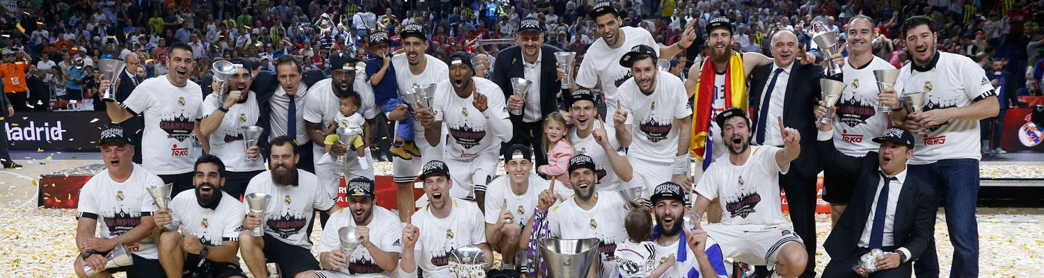 Euroleague'de şampiyon Real Madrid!