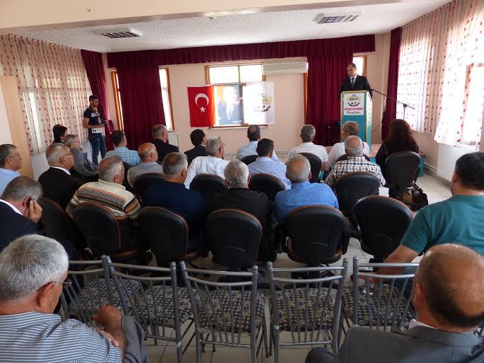 Kulu'nun Sorunlari Konya'da Masaya Yatirildi