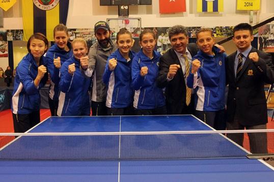 Masa Tenisi Fenerbahçe  Şampiyon Oldu